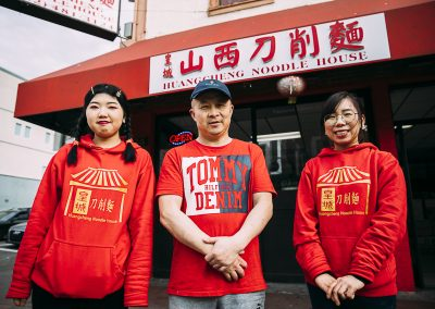 Jimmy Huang and Family